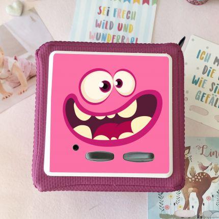 Schutzfolie passend für Toniebox, Funny Face pink