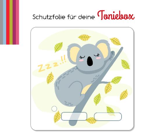 Schutzfolie passend für Toniebox, Koala