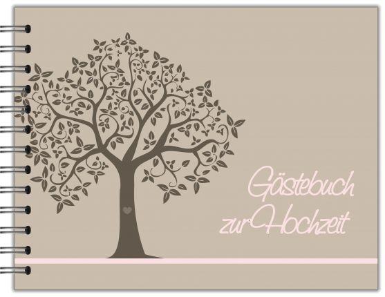 GÄSTEBUCH ZUR HOCHZEIT | RINGBUCH BAUM