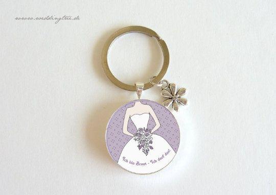 Schlüsselanhänger für die Braut
