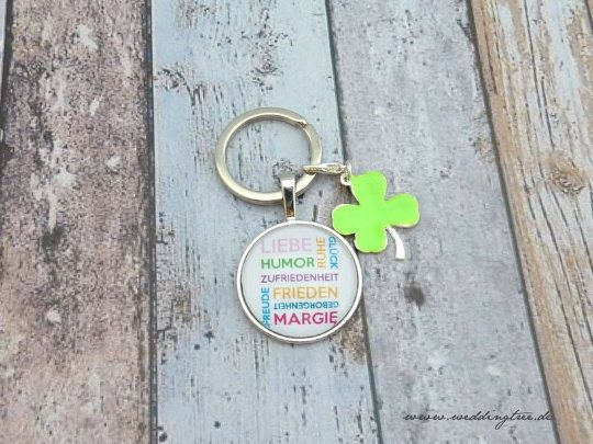 Schlüsselanhänger - Glück Liebe Harmonie