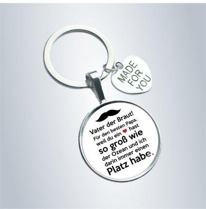 Schlüsselanhänger für den Brautvater