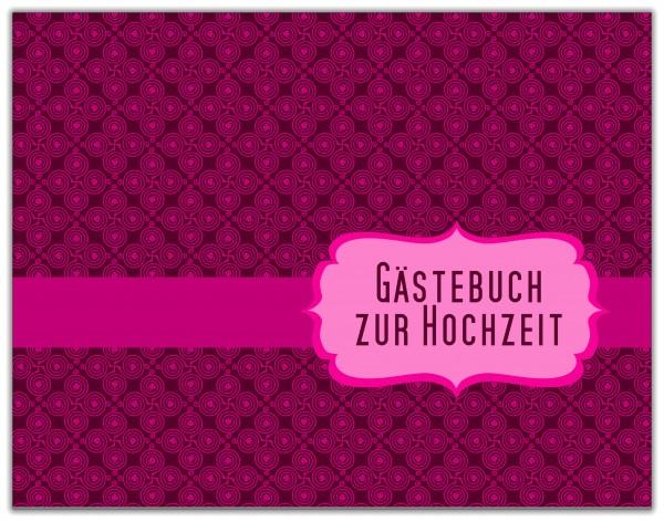 GÄSTEBUCH ZUR HOCHZEIT | PINK