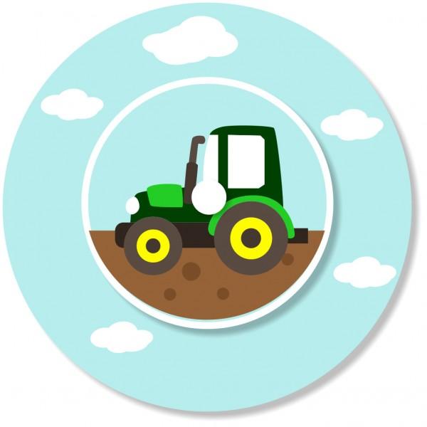 Ladestationsticker passend für die Toniebox - Traktor