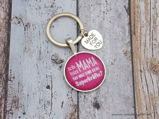 Geschenk Mama   individueller Schlüsselanhänge