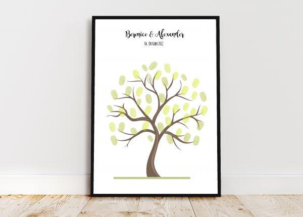 Wedding Tree - Personalisiertes Bild zur Hochzeit