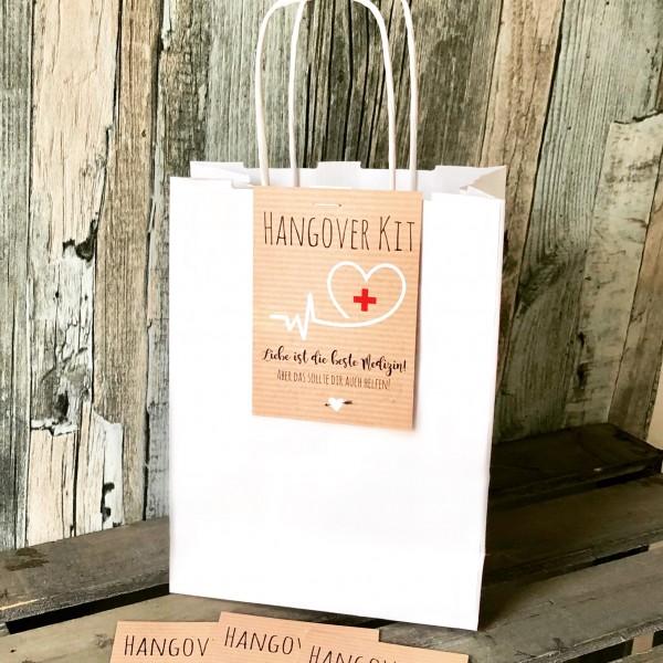 Hangover Kit Karten - Kraftpapieroptik