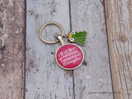 Schlüsselanhänger - Krone richten