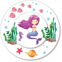 Ladestationsticker passend für die Toniebox - Meerjungfrau