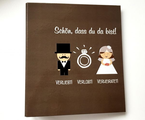 100 Gästebuch Hochzeit Karten + Ordner