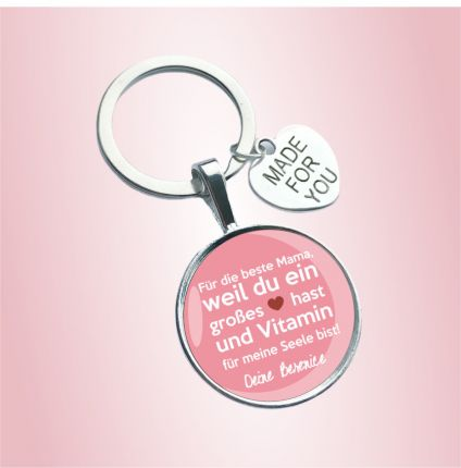 Schlüsselanhänger für die Mama - personalisiert