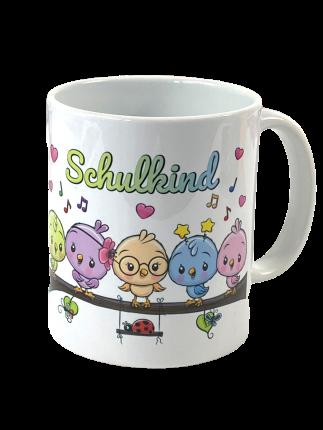 Tasse Schulkind - Geschenk zur Einschulung
