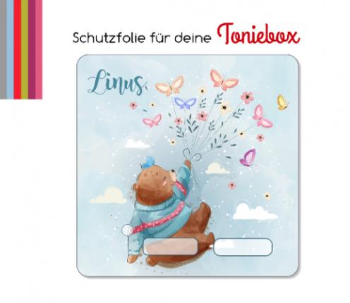 Schutzfolie passend für Toniebox, Bär, Luftballon