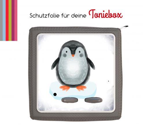 Schutzfolie passend für Toniebox, Pinguin