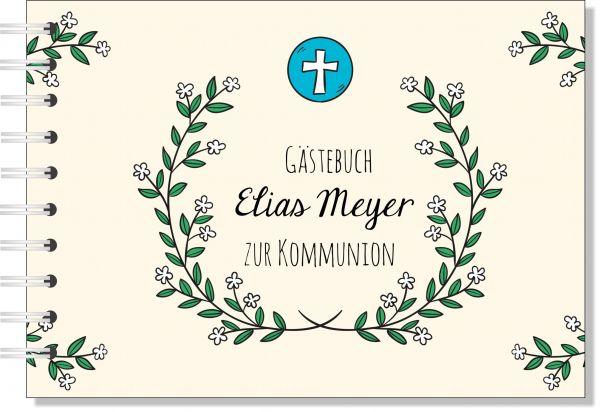 Gästebuch zur Kommunion, Konfirmation oder Firmung. Geschenk Patentante