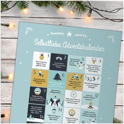 Selbstliebe Adventskalender mit 24 Achtsamkeitsübungen