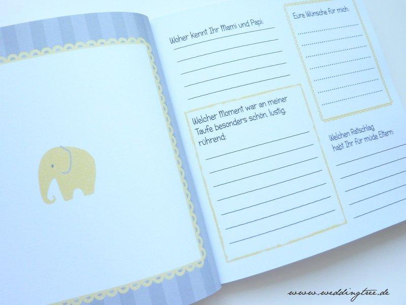 Gästebuch Taufe Mit Gästefragen