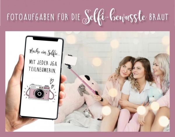 JGA Junggesellinnenabschied Selfi Karten - Fotospiel PDF