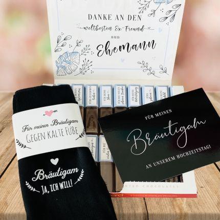 Geschenkset für den Bräutigam