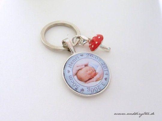 Geschenk Baby, personalisierter Schlüsselanhänger, Geschenk Eltern, Geschenk zur Geburt, Geschenk T