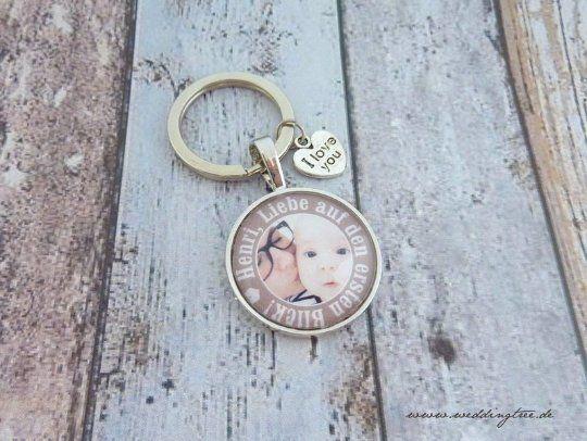 Schlüsselanhänger Liebe auf den ersten Blick - personalisiert mit Foto