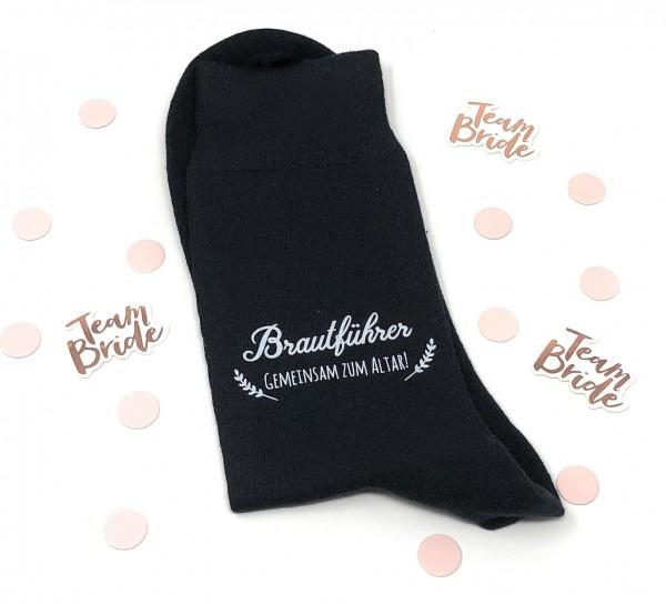 """Hochzeit Geschenk Socken """"Gegen kalte Füße"""" für den Brautführer"""