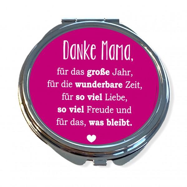 Taschenspiegel Farbe personalisierbar | Danke Mama
