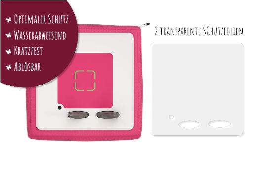 2 transparente Schutzfolien passend für die Toniebox