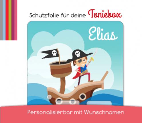 Schutzfolie passend für Toniebox, Pirat