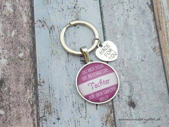 Schlüsselanhänger für die Tochter
