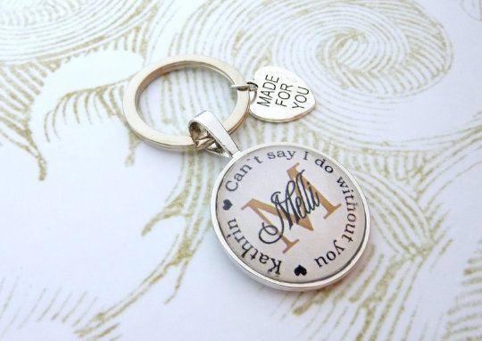 Trauzeugin Anhänger, personalisierter Schlüsselanhänger, Geschenk Freundin der Braut, Schlüsselanhän