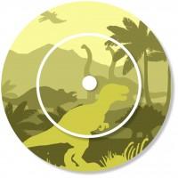 Ladestationsticker passend für die Toniebox - Dinos grün