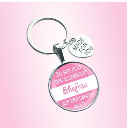 Schlüsselanhänger für die Ehefrau