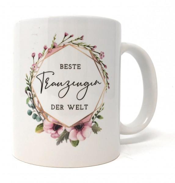 Geschenk Trauzeugin Tasse - Beste Trauzeugin der Welt