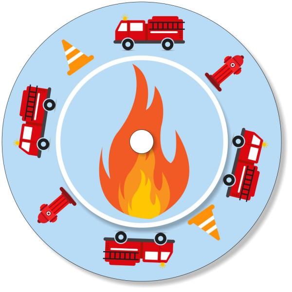 Ladestationsticker passend für die Toniebox - Feuerwehr