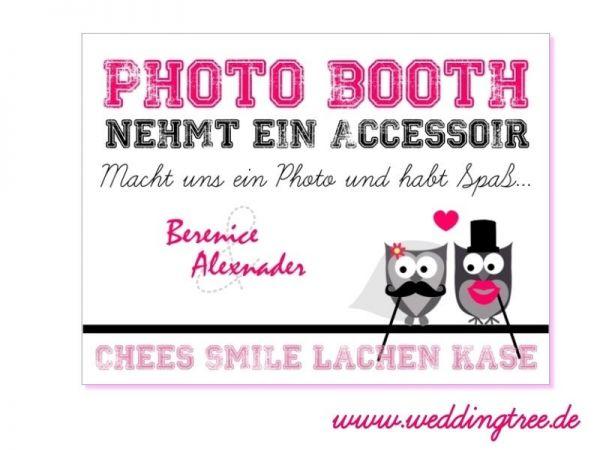 Photo Booth - Schild (PDF)
