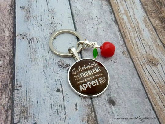 Schlüsselanhänger - Schokolade