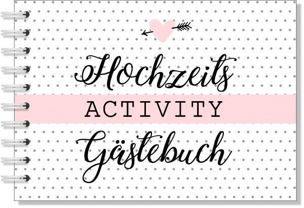 HOCHZEITS ACTIVITY GÄSTEBUCH | FRAGEN, GEHEIMNISSE, KREATIVITÄT uvm.