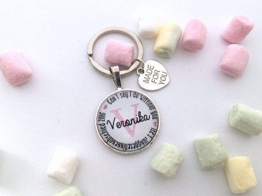 Geschenk Trauzeugin, personalisierter Schlüsselanhänger, Geschenk Freundin der Braut, Junggesellinne