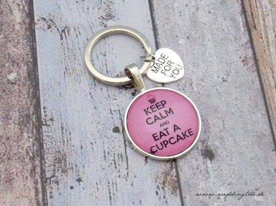 Schlüsselanhänger - Cupcake