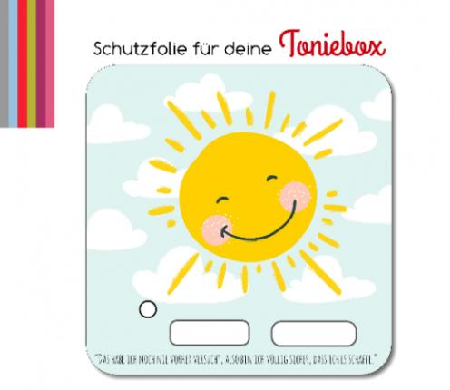 Schutzfolie passend für Toniebox, Sonne