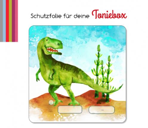 Schutzfolie passend für Toniebox, T-Rex