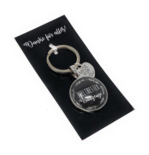 Geschenk Trauzeuge | Schlüsselanhänger
