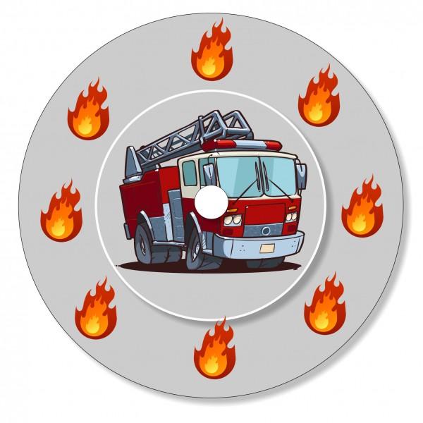 Ladestationsticker passend für die Toniebox - Feuerwehrauto
