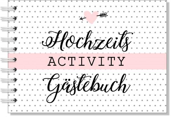 HOCHZEITS ACTIVITY GÄSTEBUCH   FRAGEN, GEHEIMNISSE, KREATIVITÄT uvm.