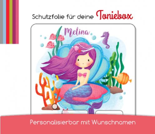 Schutzfolie passend für Toniebox, kleine Meerjungfrau