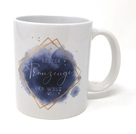 Geschenk Trauzeuge Tasse - Bester Trauzeuge der Welt - Danke!