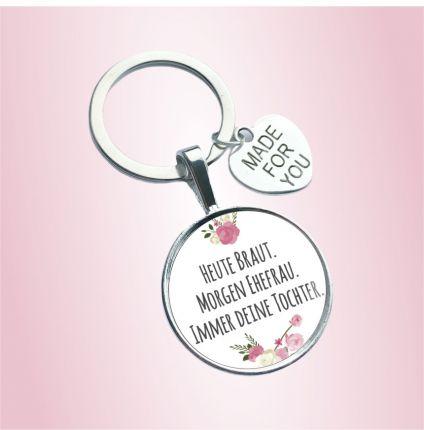 Schlüsselanhänger für die Mama der Braut