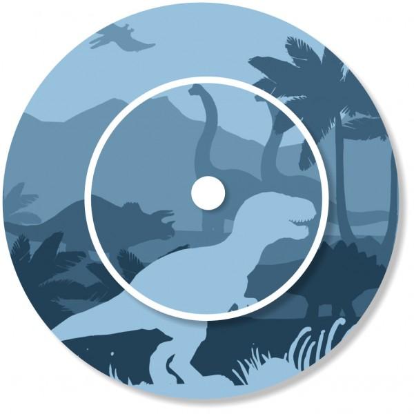 Ladestationsticker passend für die Toniebox - Dinos blau