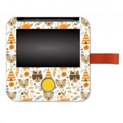 Schutzfolie passend für Tigerbox touch, Indianer Bärchen orange